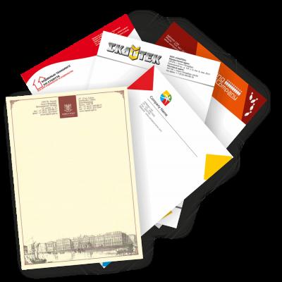 Бланки фирменные с логотипом