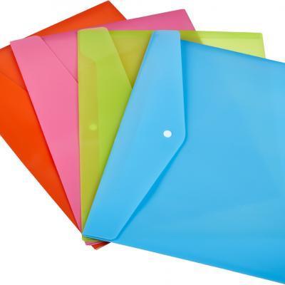Папки пластиковые с логотипом